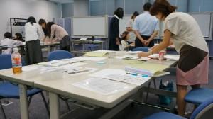 営業研修のグループ演習